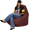 Simsuede Brick Bean Bag Chairs for Adults