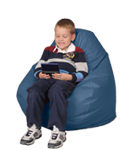 Cornflower Blue Kids Bean Bag Chairs
