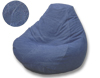 Denim Bluejean Blue Kids Bean Bag Chairs