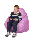 Fuschia Kids Bean Bag Chairs
