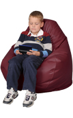 Wine Kids Bean Bag Chairs