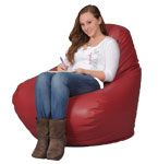 Red Rose Adult Bean Bag Chair