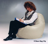 Ivory Kids Bean Bag Chairs