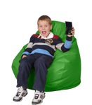 Lime Kids Bean Bag Chairs