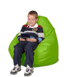 Lime Sherbet Kids Bean Bag Chairs